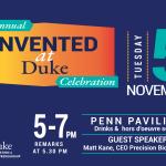 Invented at Duke Calendar Invite