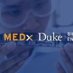 Student observes medical device