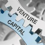 "Two parts with the words ""venture"" and ""capital"" on each"